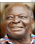 Election winner Mwai Kibaki