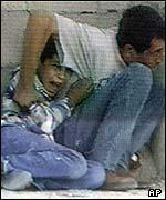 Mohamed y su padre Yamal.