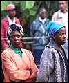 Kenyans wait their turn to cast their vote