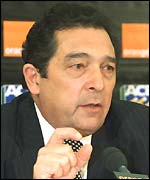 Cricket World Cup director Dr Ali Bacher