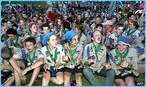 Scouts at the World Scout Jamboree