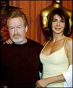 Sir Ridley Scott and Giannina Facio