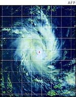 Cyclone Zoe - satellite photo