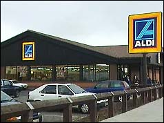 Aldi store in Seaham, County Durham where Mr Hedley worked