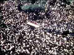 Nasser's coffin