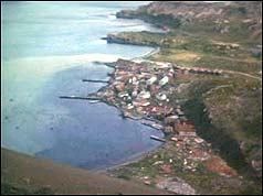 - Falklands
