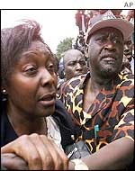 Narc leaders Charity Ngilu and Raila Odinga
