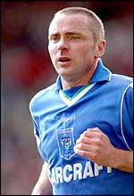 Rochdale player-manager Paul Simpson