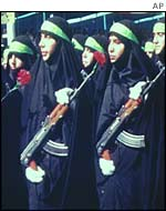 Women in the Revolutionary Guards
