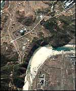 Satellite photo of the Yongbyon plant (AFP)