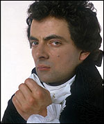 Rowan Atkinson in Blackadder the Third