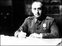 General Franco pictured in the 1920s