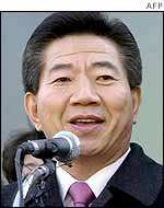 South Korean president-elect Roh Moo-hyun