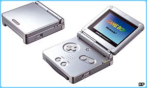 The new GameBoy Advance SP