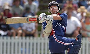 England opener Nick Knight hits out