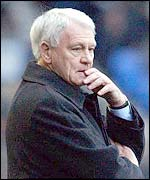 Newcastle manager Sir Bobby Robson