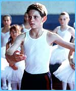 Jamie Bell as the real Billy Elliot