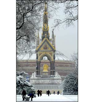 The Albert Memorial and Royal Albert Hall
