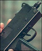 Ingram machine pistol
