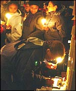 Vigil for teenagers