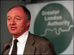 Photo of the Mayor of London Ken Livingstone