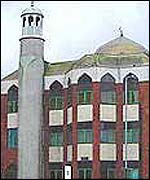 Finsbury Park mosque in North London