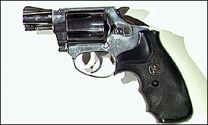 REAL - a Smith and Wesson .38 snub nose