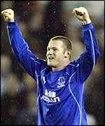 Everton's teenage superstar Wayne Rooney