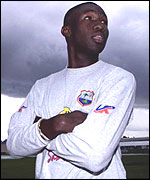 West Indies' Wavell Hinds
