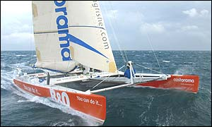 The crew are hoping to beat the current race record of 64 days - Copyright Jacques Vapillon