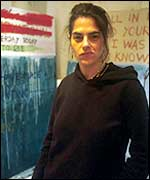 Tracey Emin, who lives in E1