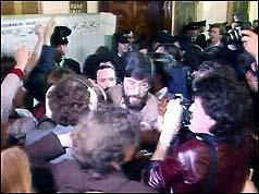 Gerry Adams, vice president of Sinn Fein