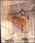 Iranian Embassy as SAS storm the building in 1980