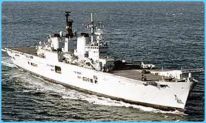 The Ark Royal is on its way to the Gulf
