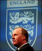 Football Association acting chief executive David Davies