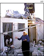 Destroyed house in Beit Hanoun