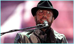 The late Maurice Gibb in 1998