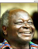 Mwai Kibaki failed to be elected in 1992 and 1997