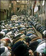 Algerian praying