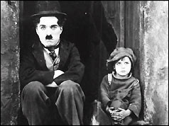 Charlie Chaplin in The Kid, 1921