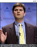 AOL Time Warner executive chairman Steve Case