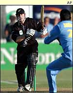 Scott Styris batting in Hamilton
