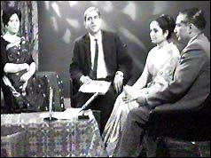 Ali Hasan (centre) and programme guests (10/10/65)