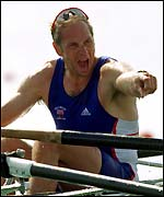 Sir Stephen Redgrave in Olympic action