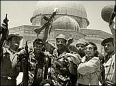 Israeli soldiers celebrate