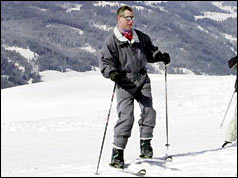 Prince Charles in Klosters