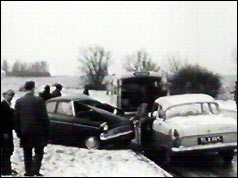 Drink-drive motoring accident