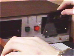 Police interrogation tape recorder