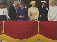 Members of the royal family including Duchess of York, Duchess of Kent and Prince & Princess Michael