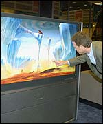 Toshiba Cinema Series 57-inch Liquid Crystal on Silicon (LCOS) TV